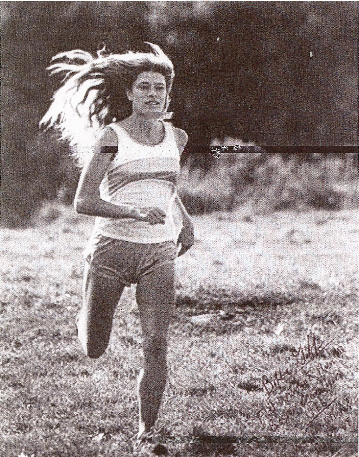 3. Bobbi Gibb hair in breeze