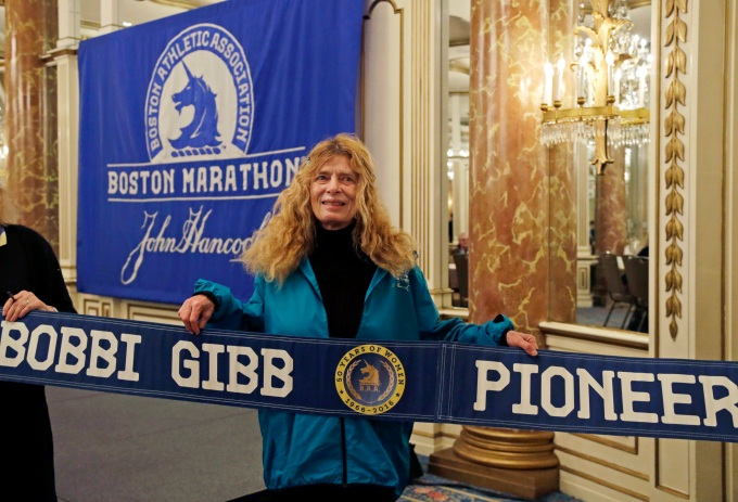 AP BOSTON MARATHON 50 YEARS OF WOMEN S ATH USA MA