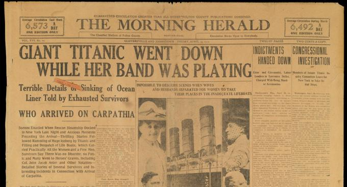 Titanic Morning Herald