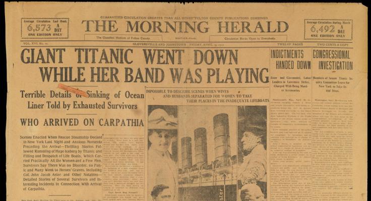 Titanic Morning Herald