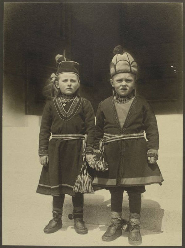 Lapland-children