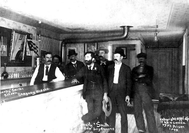 Cowboys at Old West Saloons (13)