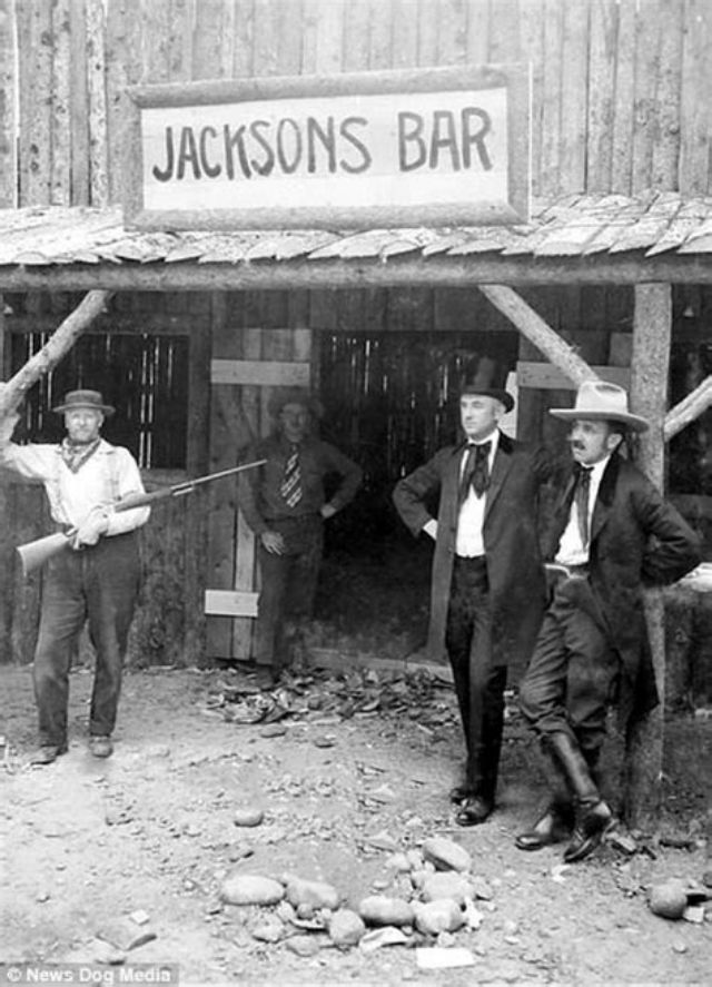 Cowboys at Old West Saloons (18)