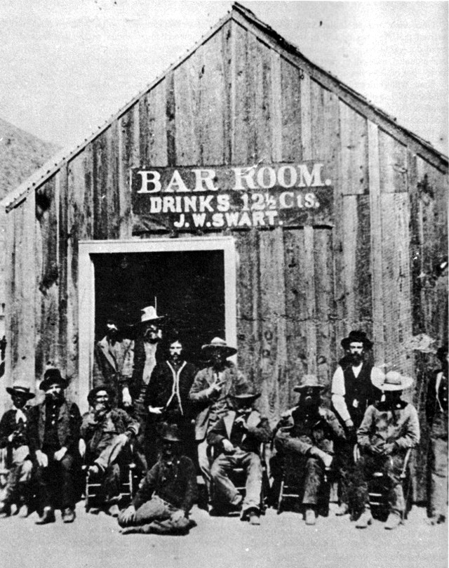 Cowboys at Old West Saloons (5)