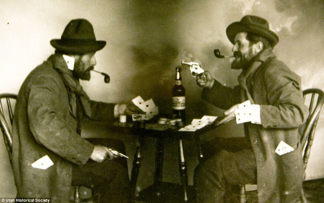 Cowboys at Old West Saloons (8)